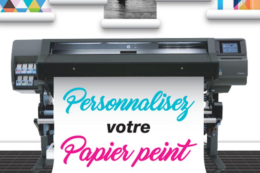 LE PAPIER PEINT PERSONNALISABLE